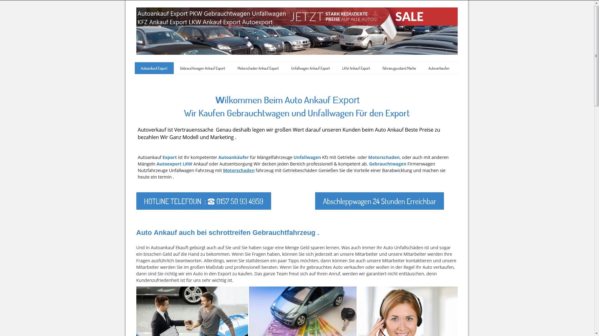 autoankauf rostock kauft unfallwagen fuer den export - Autoankauf Rostock kauft Unfallwagen für den Export
