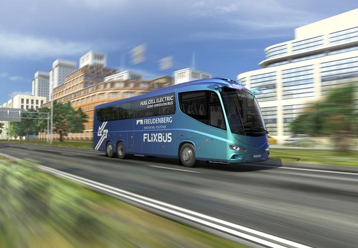 Brennstoffzellen für den Busfernverkehr FlixBus