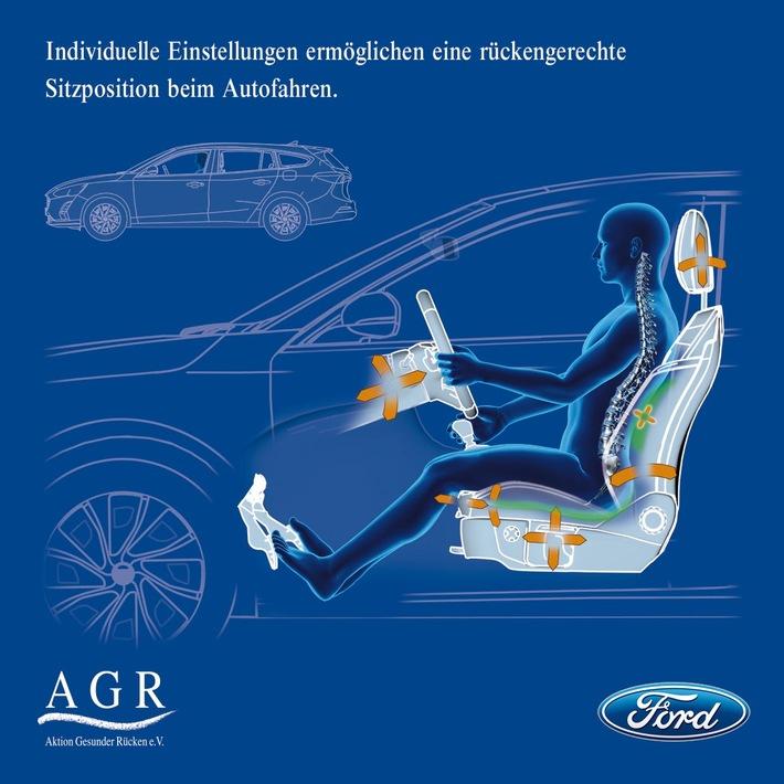 endlich ohne rueckenschmerzen ans ziel agr zertifiziert ergonomie sitz in den ford modellen mondeo s max und galaxy - Endlich ohne Rückenschmerzen ans Ziel: AGR zertifiziert Ergonomie-Sitz in den Ford-Modellen Mondeo, S-MAX und Galaxy