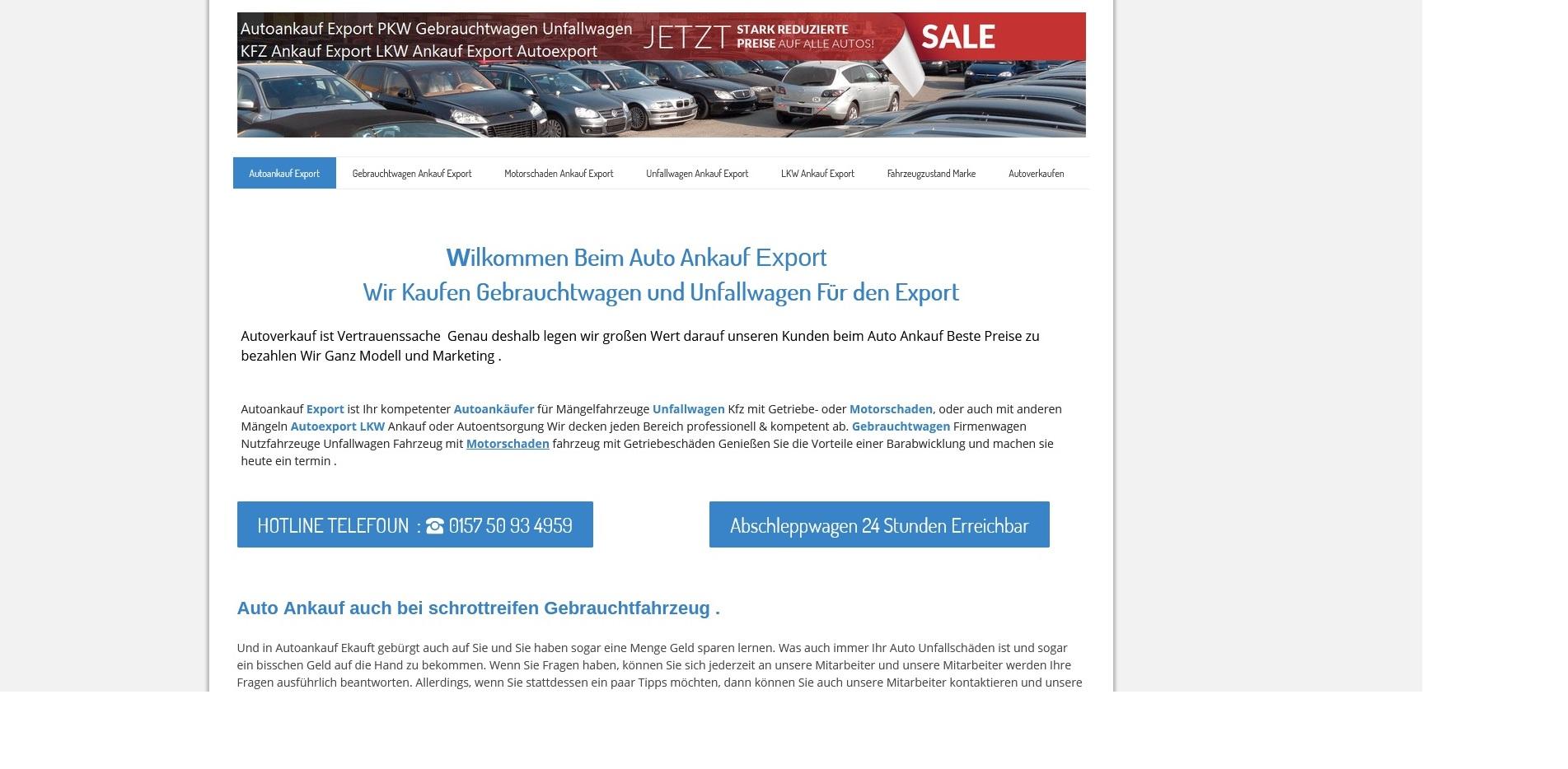 mit autoankauf hildesheim sparen sie sich die entsorungskostens fuer ihr fahrzeug - Mit Autoankauf Hildesheim sparen Sie sich die Entsorungskostens für Ihr Fahrzeug