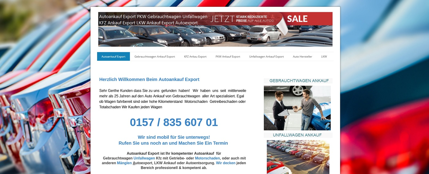 auto ankauf exports de kauft jeder art von altfahrezeugen zur hoechstpreis - Auto-Ankauf-Exports.de kauft jeder Art von Altfahrezeugen zur Höchstpreis