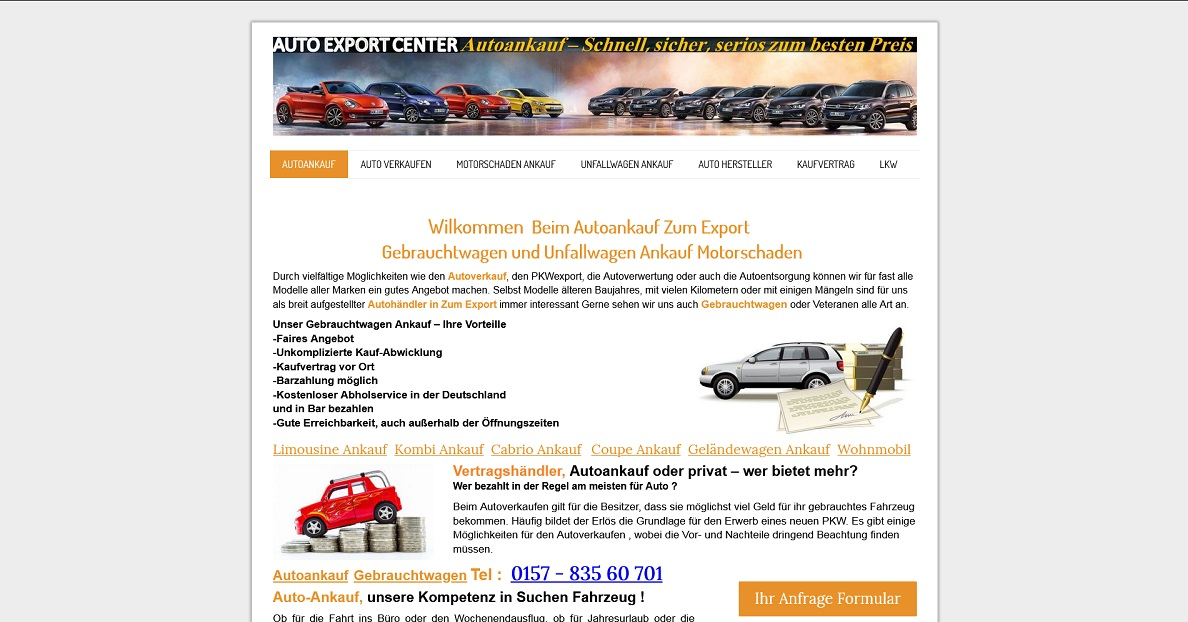 Kfz-Ankauf-Markt.de   Autoankauf Wilhelmshaven   Autoankauf Export Wilhelmshaven
