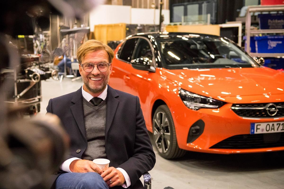opel startet neue corsa kampagne mit juergen klopp in der hauptrolle - Opel startet neue Corsa-Kampagne mit Jürgen Klopp in der Hauptrolle