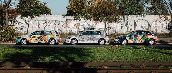 """weshare launcht zum mauerfall jubilaeum 100 art cars in berlin - WeShare launcht zum Mauerfall-Jubiläum 100% """"Art Cars"""" in Berlin"""