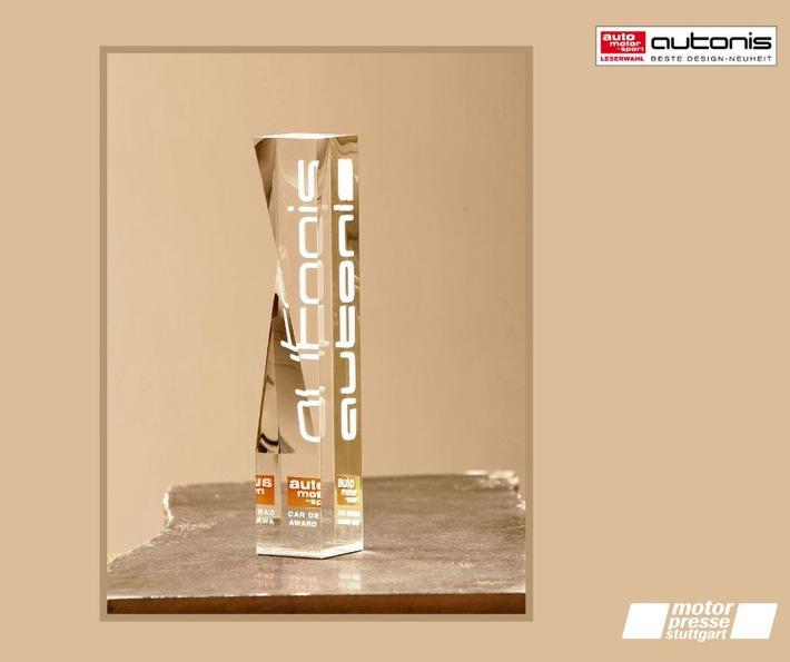 Audi und Mercedes gewinnen die meisten autonis-Awards bei der Leserwahl zu den besten Design-Neuheiten des Jahres