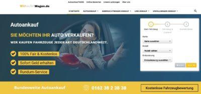 Auto verkaufen zum Höchstpreis:  Wirkaufenwagen.de/Autoankauf